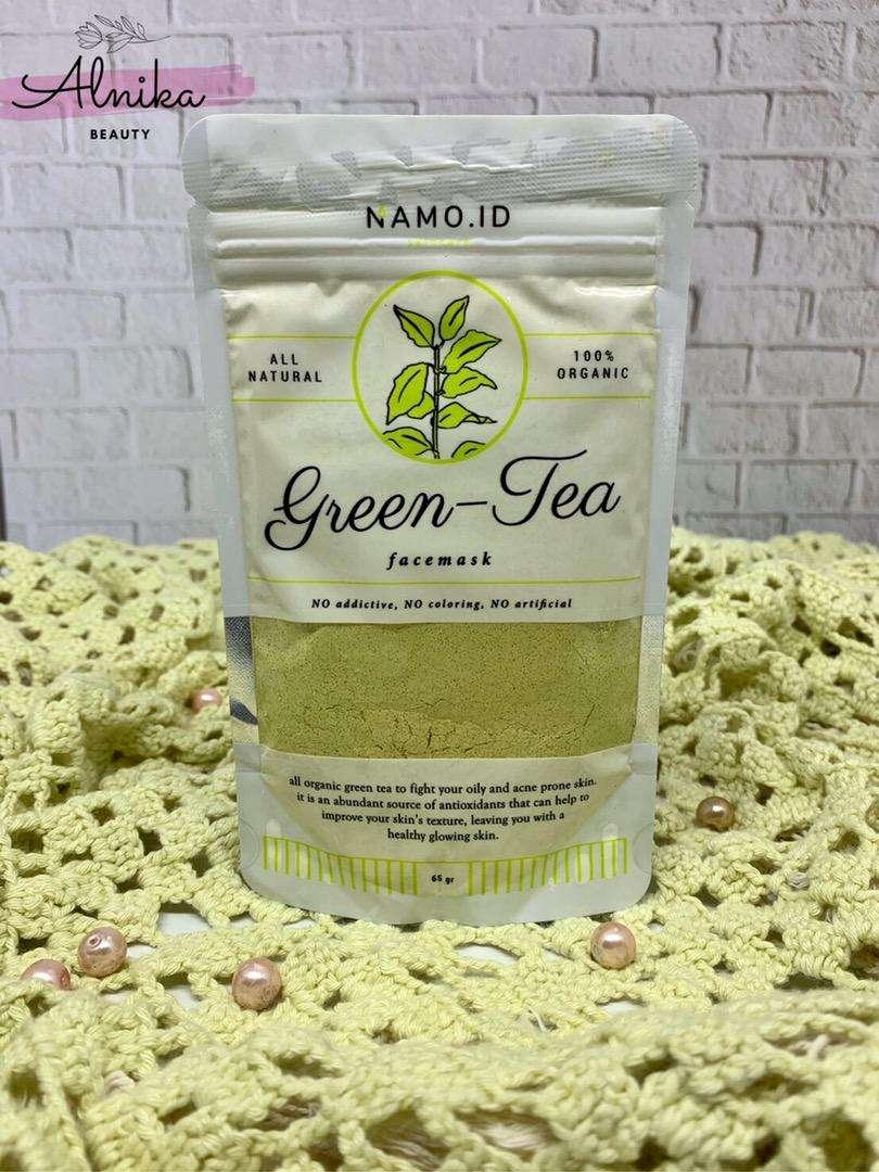 [ FREE GIFT ] Masker Wajah Organik Varian Green Tea by Namo 0