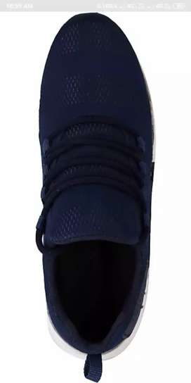 Mesh walking casual sneakers shoes for man and boys(blue color )