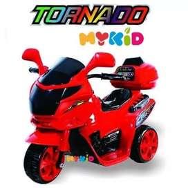 motor aki tornado anak
