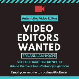 Wanted Video Editor