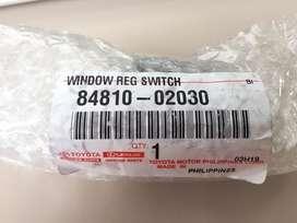 Saklar power window kiri corolla, vios, altis