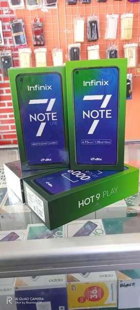 Infinix note 7 LTE ram 4/64 bergaransi resmi