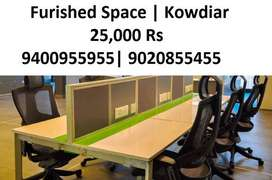 Furnished Space 25000 Rs Kowdiar