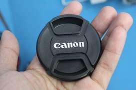 tutup lensa canon aneka ukuran