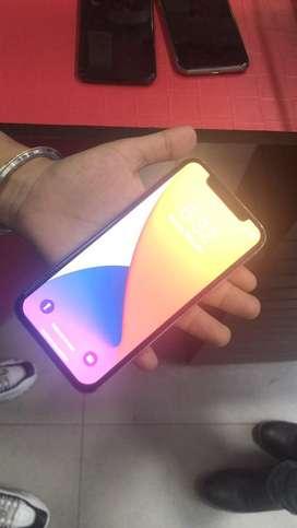 Iphone x with box 64 gb
