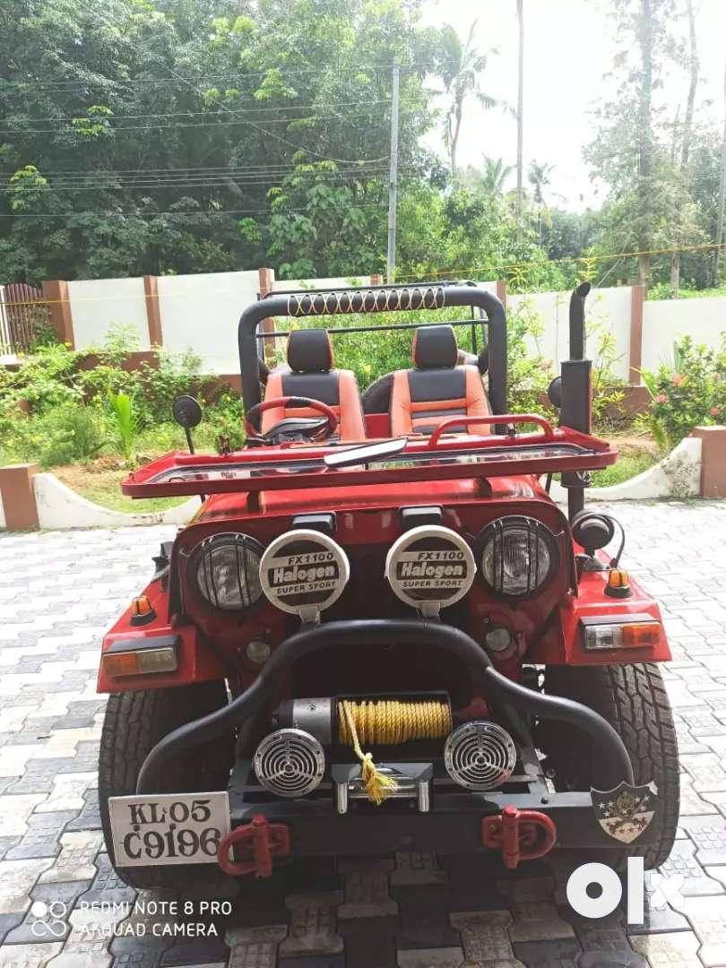 1995 modified mahindra Jeep for sale 0