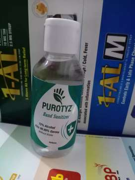 Hand sanitizer 100ml only 35rs
