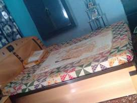 King size bed in good condition