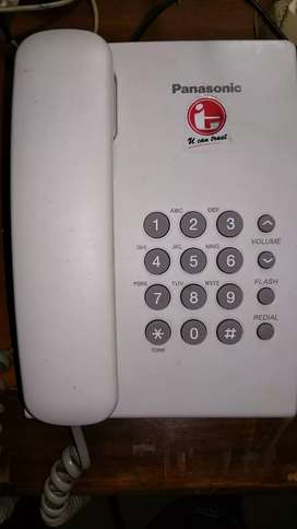 Telepon rumah Panasonic KX TS505MXW murah & bergaransi