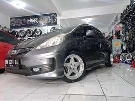 Honda jazz pakai velg hsr anambas r16 bisa kredit DP 10% Bunga 0%