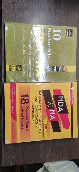 NDA previously solved question paper and practice set