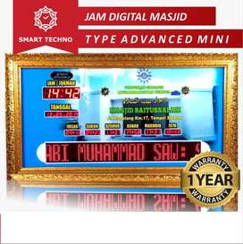 Jam Digital Masjid Dilengkapi Jadwal 5 Waktu Sholat