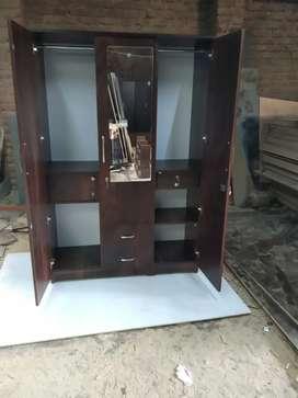 3 door wardrobe Direct factory se sale