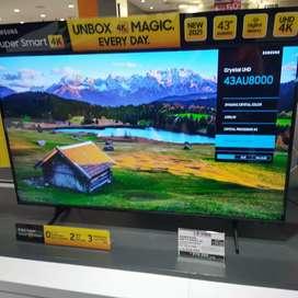 Kredit Samsung LED TV SMART 4K Khusus cicilan tanpa kartu kredit..
