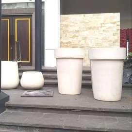 Pot Taman Elegant Handmade Untuk Dekorasi Perkantoran