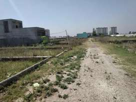 75000/  per marla plot  two side just 4 km from urban estate phase 2