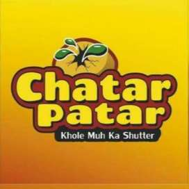 Urgently needed a cashier for Chatar Patar outlet in Zafar nagar.
