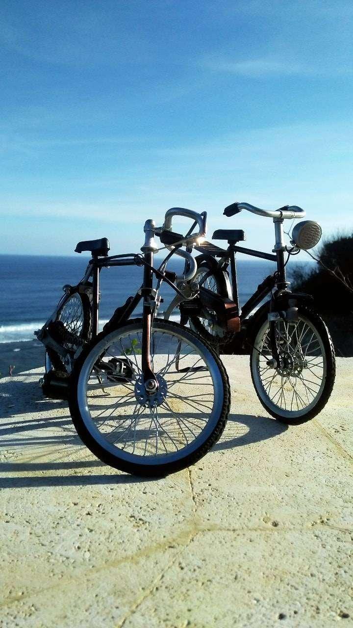 Miniature / Miniatur sepeda dan Becak 0