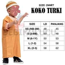 Gamis baby Laki-laki (KOKO Turky)