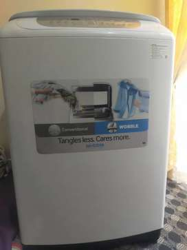 Samsung tangles ,cares more automatic washing machine.