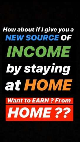If you want to earn 10k to 15k by stay at home then contact us