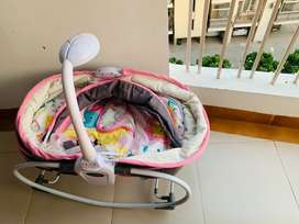 5-in-1 Bassinet rocker from firstcry, gently used