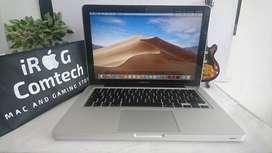 macbook pro 13inch/4gb/hdd500gb/2012/corei5/stock banyak bos.
