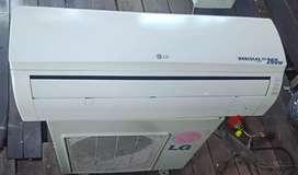ac LG 260 watt + pasang