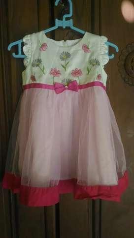 Dress anak uk M