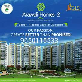 3 BHK 23 lac only ,South Gurgaon