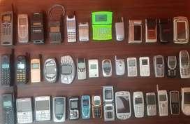 40 Working Vintage Antique Mobile phones vertu collection @ 3.5 Lakh