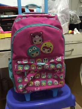 Smiggle trolley backpack Original 100%