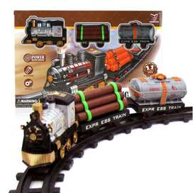 Children Puzzle Electric Vehicle Toys Electric Railcar Track