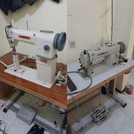 Mesin jahit simaru 810 postbed/tungku, typical 302 cakar/walking foot