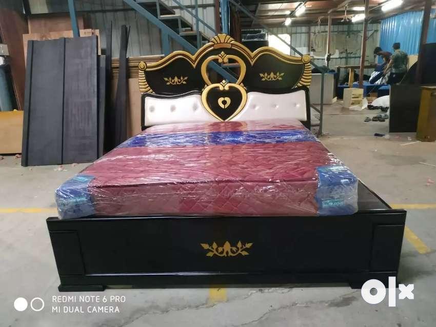 New Wooden box cot 0
