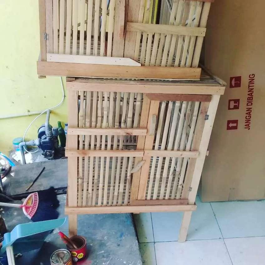 Kandang bambu baru 0