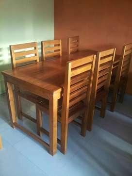 Set meja kursi warung