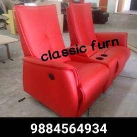 bran dnew traditional look recliner sofa