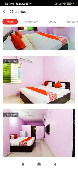 I want a Room boy. Com Reception