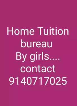 Home tuition bureau by girls