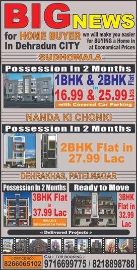Flats for Sale in Dehradun