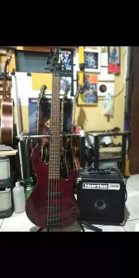 Bass Ibanez TR series 5 string Korea