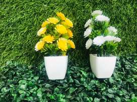 Artifical small plants Pair