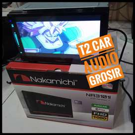 NAKAMICHI DECKLESS 2din android link 7inc+camera hd asiik