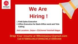 Field Sales Executive needed for Real Estate Profile