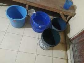Urgent selling my buckets