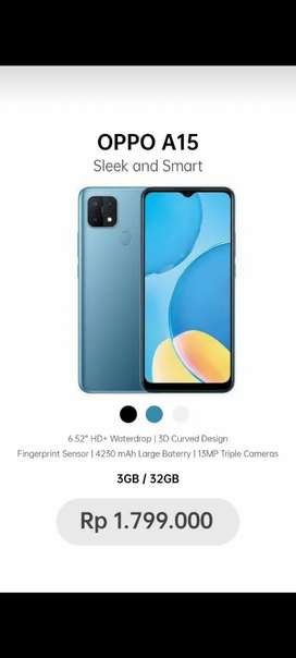 Jual Smartphone OPPO A15