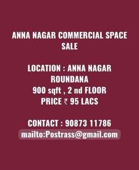ANNA NAGAR COMMERCIAL SPACE SALE