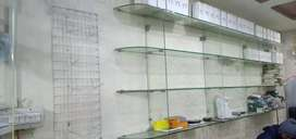 Mobile shop at allama Iqbal town for rent with furniture