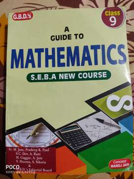 Mathematics, Class-9 G.B.D's guide